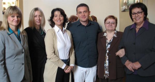 Gordana Županac, Sandra Neđeral, Ana lisac marušić, Emir Tetarić, Božica Brkan i Marica Svetlečić (Fotografija Oblizeki)