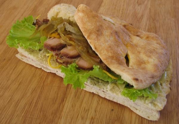 Gotov sendvič «Bučijada» (Snimila Božica Brkan / Oblizeki)
