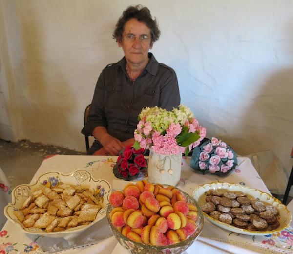 Gospođa Podvorec nije ispekla mnogo vrsta, ali ono što je ispekla bilo je vrlo dojmljivo (Snimio Miljenko Brezak / Oblizeki)