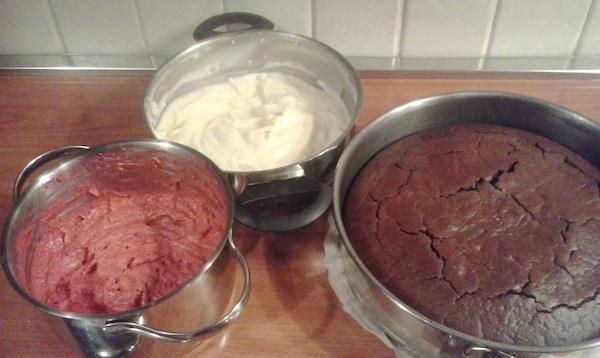 Lovrina torta prije slaganja (Snimila Iva Komesar)