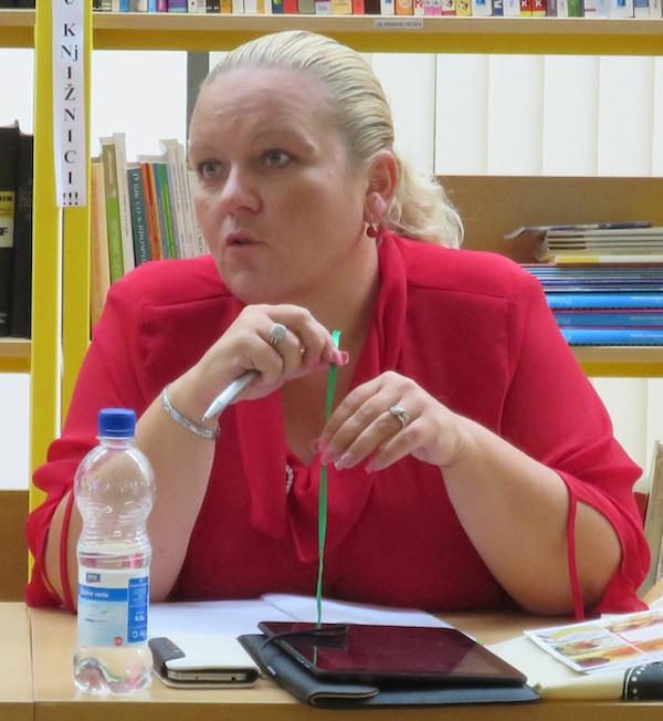 Nadica Žužak donijela je vedre vijesti iz Ministarstva poduzetništva (Snimio Miljenko Brezak / Oblizeki)