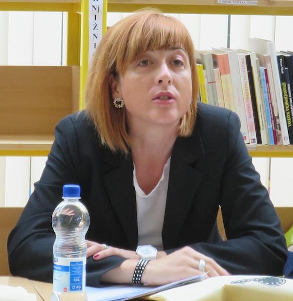 """Nada Trgovčević-Letica iz Ministarstva poljoprivrede najavila je 16 """"europskih"""" mjera od 2016. do 2020. (Snimio  Iljenko brezak / Oblizeki)"""