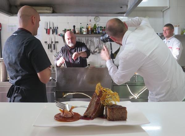 Umjetnička fotografija za umjetnika kuhara Ivana (Fotografija Božica Brkan / Obli