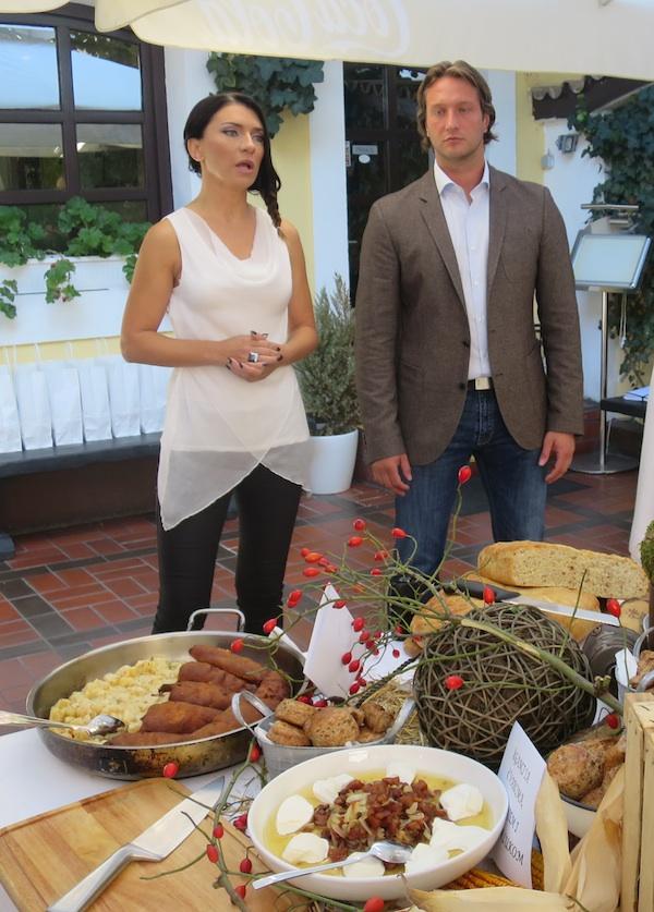 Barbara Restović i Miroslav Mataušić na predstavljanju Frelima (Fotografija Božica Brkan / Oblizeki)