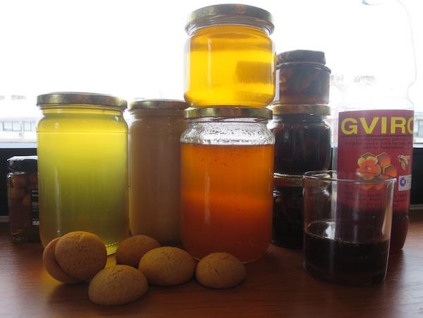 Različite vrste meda i proizvoda od meda (Fotografija Božica Brkan / Oblizeki)