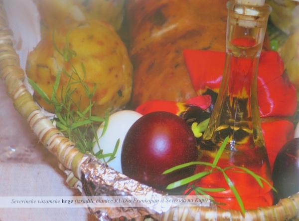 Severinske hrge presnimljene iz knjige Dečnički želudac presnimljen iz knjige Goranska jela – vezàmska nadèla