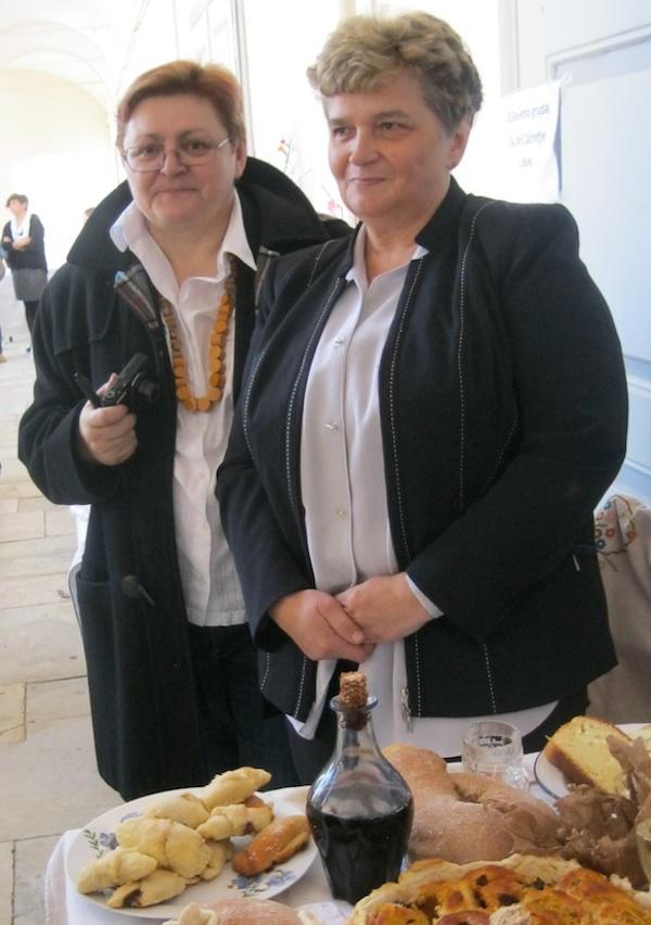 Urednica Oblizeka s Nadom Tučkar (Fotografija Miljenko Brezak / Oblizeki)