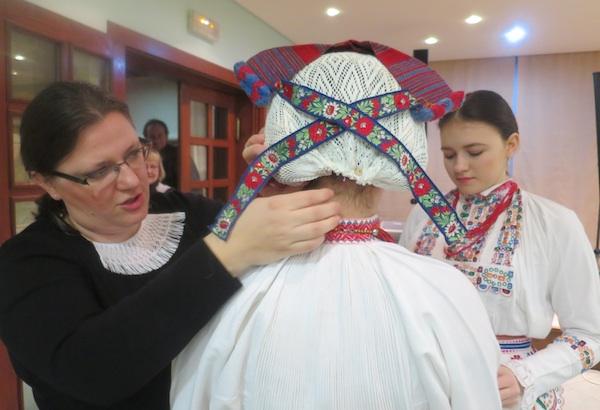 Predstavljanje vlastite baštine uživo - jalba (Fotografija Miljenko Brezak / Oblizeki)