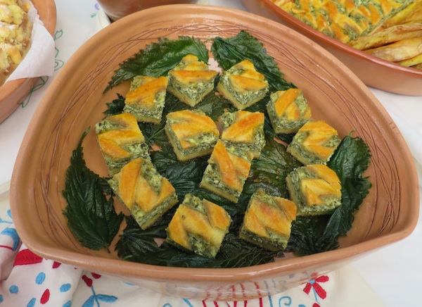 Trećeplasirana pita od koprive Ane Novosel iz gastroshowa 3-2-2 kuhaj (Fotografija Božica Brkan / Oblizeki)