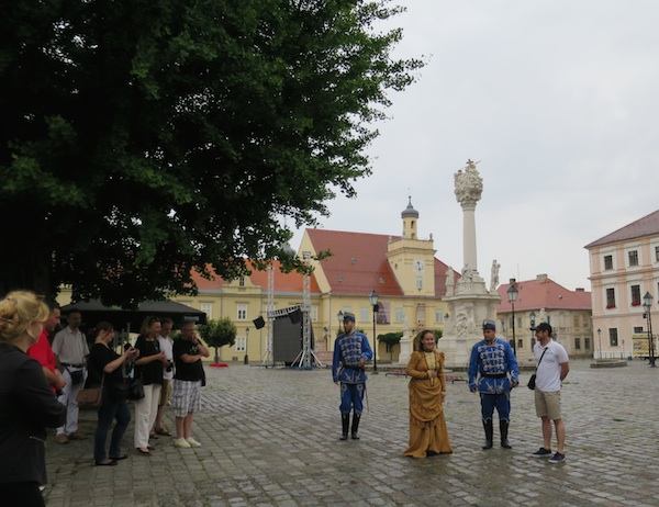 Živa povijest u Tvrđi s barunicom Paulinom Karolinom Terezijom Hermann (Fotografija Miljenko Brezak / Oblizeki)
