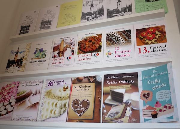 Knjižice s receptima sa svim kriških izložaba (Fotografija Miljenko Brezak / Oblizeki)