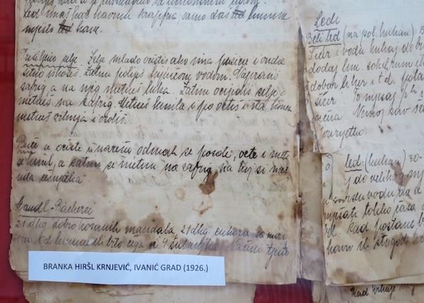 Još jedna od zanimljivih požutjelih bilježnjica s receptima