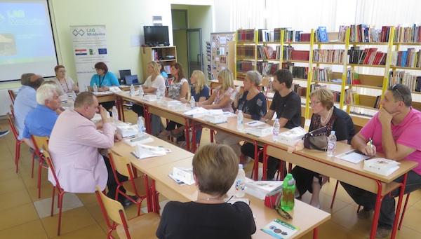 S okrugloga stola kojim je moderirala urednica Oblizeka Božica Brkan (Fotografija Miljenko Brezak / Oblizeki)