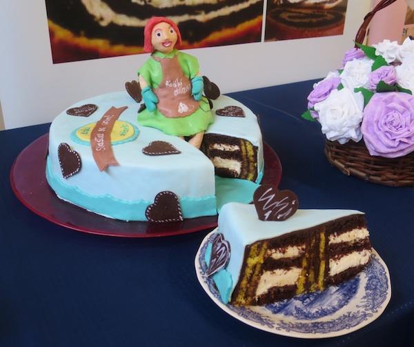 Nagrađena čokoladno-narančina torta (Fotografija Miljenko Brezak / Oblizeki)