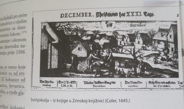 Svinjokolja, ilustracija iz knjige