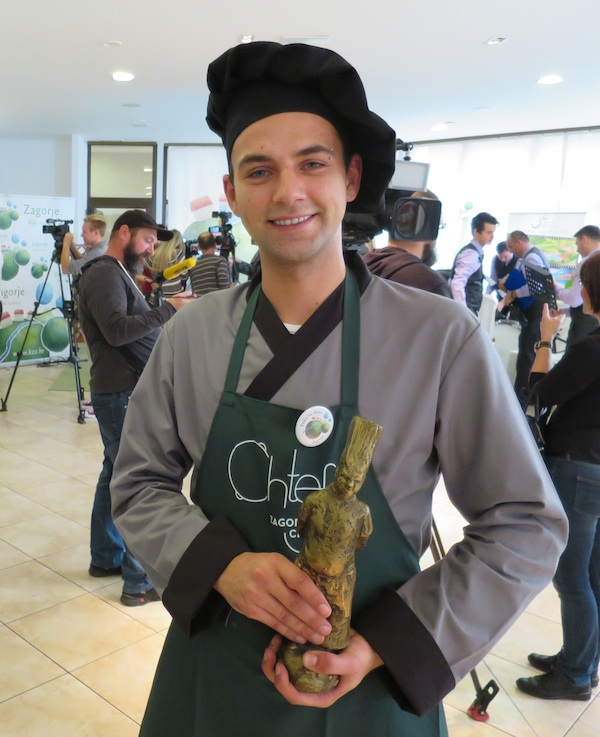 Ivan Knezić Prigorec, Chtef Zagorski chef 2016. (Fotografija Božica Brkan / Oblizeki)