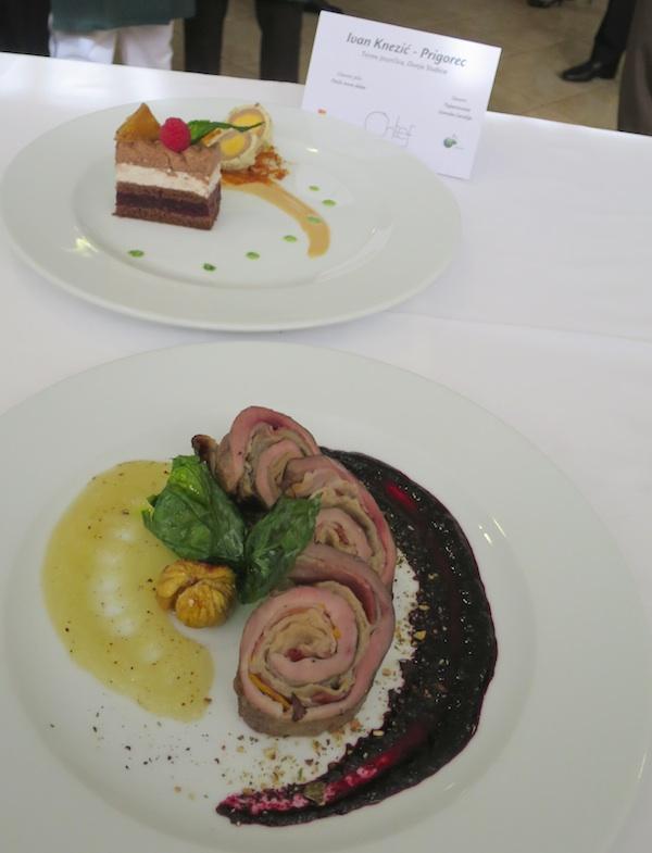 Oba jela nagrađenoga Zagorskog chefa (Fotografija Miljenko Brezak / Oblizeki