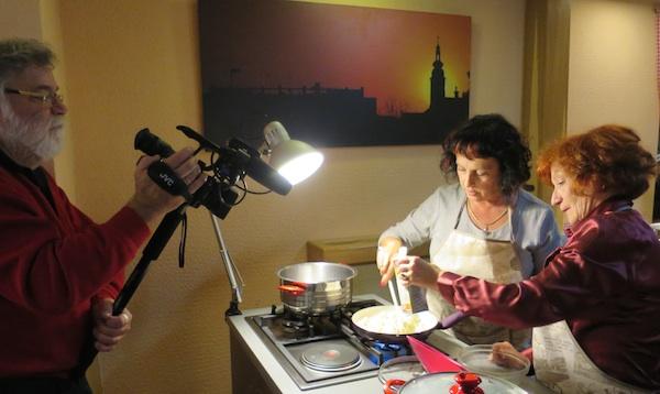 Možete se samo gostiti, a jelo možete sami pripremati i još i snimiti! (Fotografija Božica Brkan / Oblizeki)