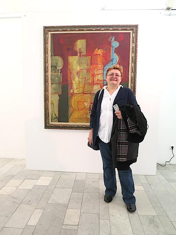 Božica Brkan: ponovni susret s Pricom u pečuškoj galeriji (Fotografija Miljenko Brezak / Oblizeki)