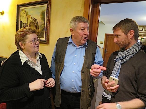 Možete li nam otkriti recepturu... - razgovor urednice Oblizeka Božice Brkan s Jozsefom Bockom i Markom Kincsesom (Fotografija Miljenko Brezak / Oblizeki)