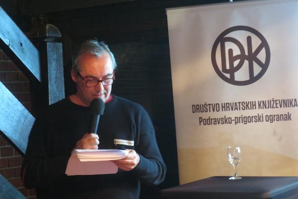 Primož Repar ili Kierkegaard s danskog do hrvatskog preko slovenskog (Fotografija Miljenko Brezak / Oblizeki)
