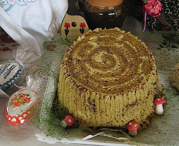 Starinska torta, ali drugačije izvedena, od oraha i s okusom kave, Milke Vinković iz Marije Bistrice (Fotografija Miljenko Brezak / Oblizeki)