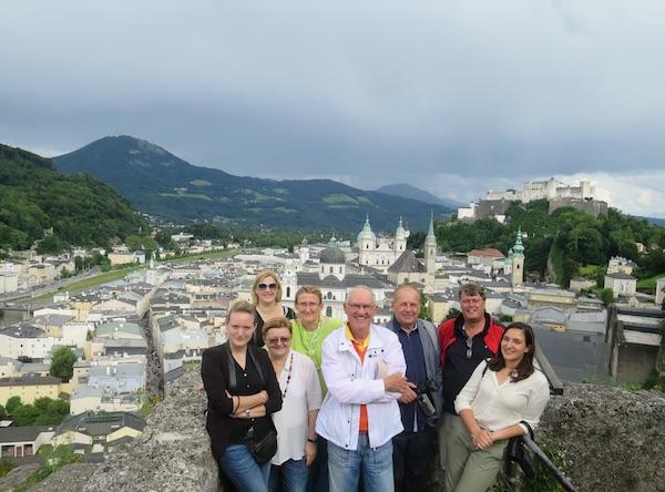 Posjetitelji iz Hrvatske i Salzburg (Fotografija Oblizeki)