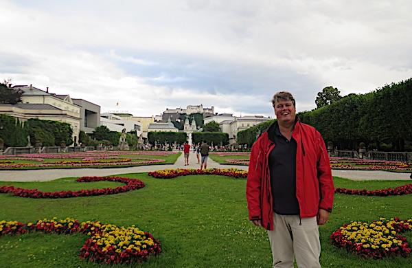 Roland Ploezeneder u Parku Mirabell (Fptografija Božica Brkan / Oblizeki)