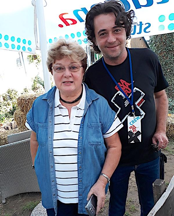 Direktorica Pustare Višnjica Ksenija Plantak i Ivan Žada, jedan od organizatora Fra Ma Fu Festivala (Fotografija Miljenko Brezak / Oblizeki)