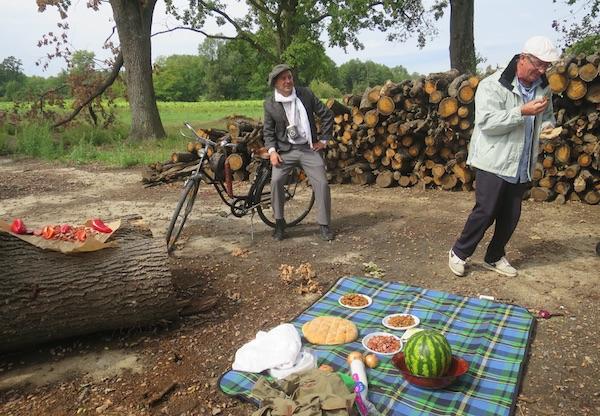 Franju Martina Fuisa doduše glume, ali je slavonska hrana što je kuša informacija gladan Žižo itekako prava (Fotografija Miljenko Brezak / Oblizeki)