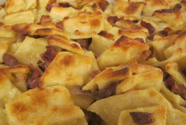Trganci na način Nove zagrebačke kuharice (Trganci na elegantan način (Fotografija Božica Brkan / Oblizeki)