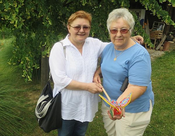 Suzana Đura i Božica Brkan (Fotografija Miljenko Brezak / Oblizeki)
