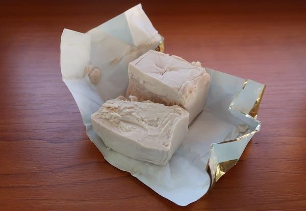 Kockica svježe germe (Fotografija Božica Brkan / Oblizeki)