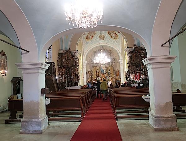 Osekovačka crkva sv. Ane ili barok u Moslavini (Fotografija Oblizeki)