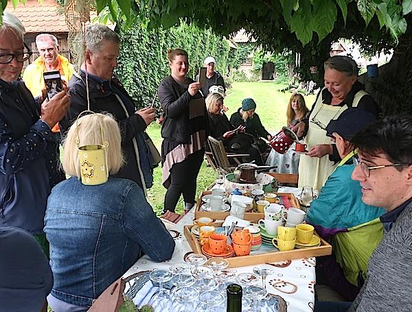 Kava kod pionirke u čuvanju baštine Zlate Ravlić (Fotografija Oblizeki)