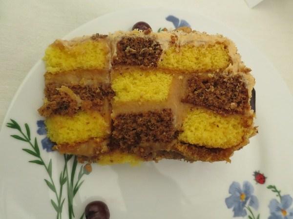 Kriška torte Šahovnice Nade Tučkar (Fotografija Oblizeki)