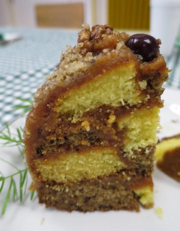 Kriška torte Šahovnice Nade Tučkar u drugojizvedbi (Fotografija Oblizeki)