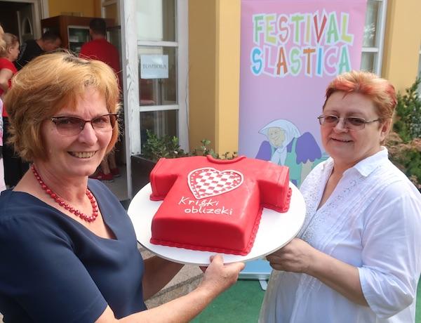Ankica šatović donirala je tematsku tortu kriškoj djeci (Fotografija Miljenko Brezak / Oblizeki)