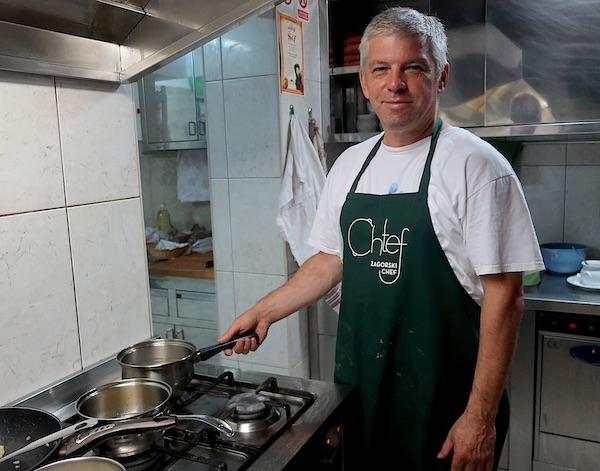 Chef Marko Živaljić u kuhinji svoga Majsecova mlina (Fotografija Božica Brkan / Oblizeki)