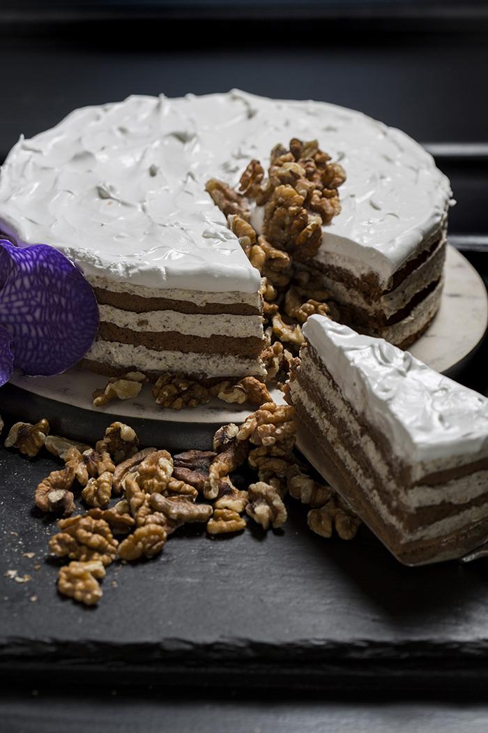Torta s kremom od oraha (Fotografija Berislava Picek)
