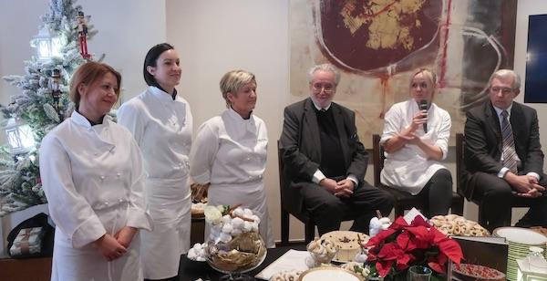 S predstavljanja u Esplanadi slastičarke, maroje Mihovilović, Ana Grgić i Željko Žutelija (Fotografija Božica Brkan / Oblizeki)