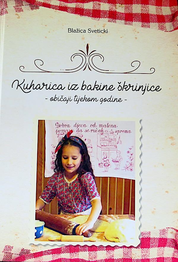 Naslovnica knjige Blažice Sveticki koja je više od kuharice