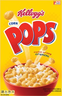 New Equity - Graphic Redesign Vermont GMO New Food, REMOVE Olympic logo and Legal Line Bilingual, Corn Pops Redesign, upd to PMS 485 and PMS 109