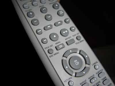 El mando a distancia