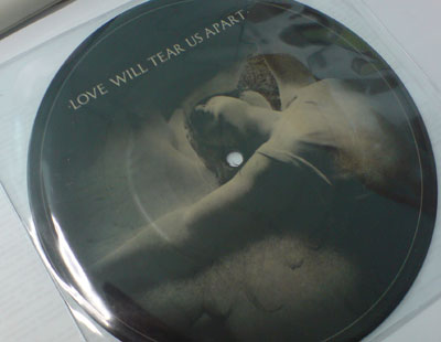 El single, en edición limitada, de Love Will Tear Us Apart, de Joy Division