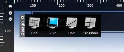 Captura de pantalla del bookmarklet design en acción