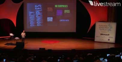 Diapositiva sobre principios de privacidad