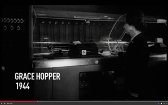 Grace Hopper en 1944
