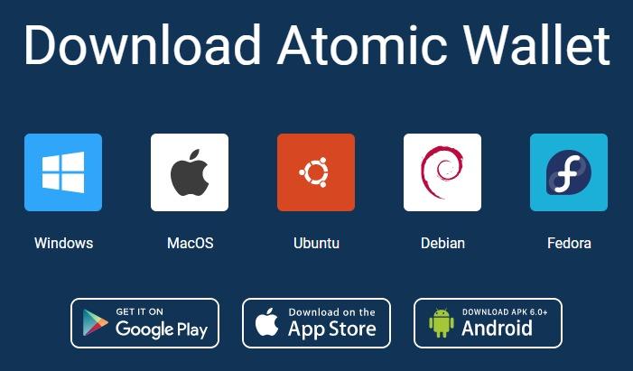 Крипто-кошелек Atomic Wallet