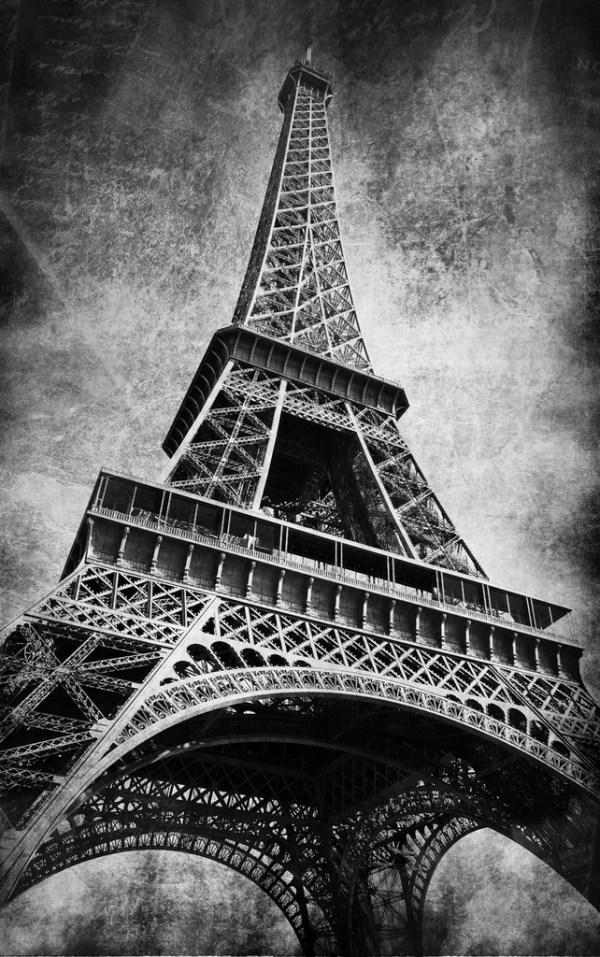 Черно-Белые Фотографии Парижа - standartfollow